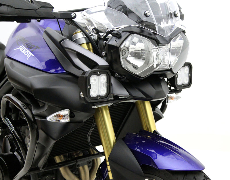 Driving Light Mount - Triumph Tiger 800 XC '10-'14 & Tiger 800 XCx, XCa, XR, XRx '15-'19