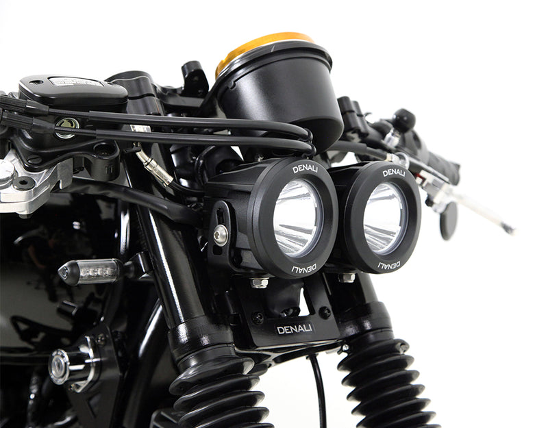 LED Headlight Mount - Select Suzuki Cruisers