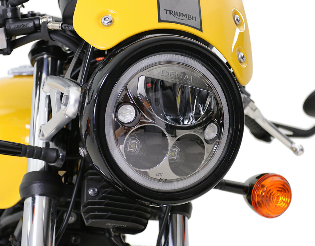 LED Headlight Mount - Select Triumph Cruisers