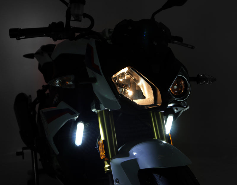 DRL Visibility Lighting Kit with Offset Mount - White or Amber