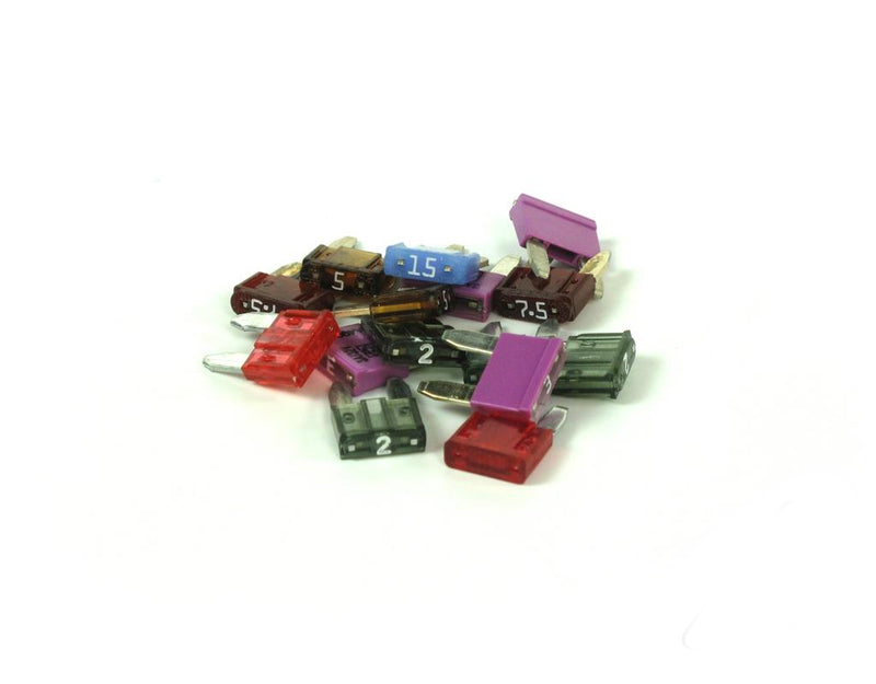 Fuse Set - Mini ATM 15 pcs