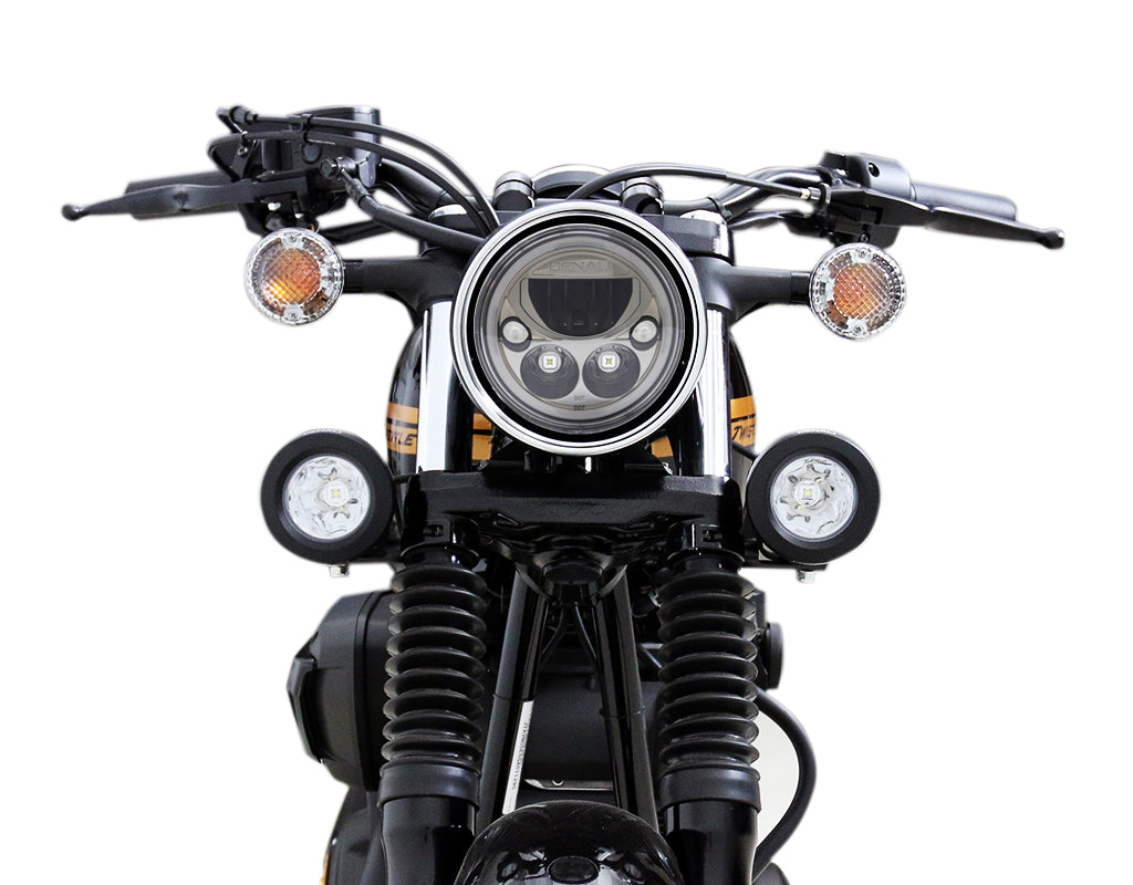 LED Headlight Mount - Select Yamaha Motorcycles