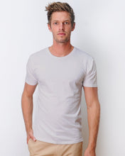 Load image into Gallery viewer, Classic Crew Light Grey T-shirt