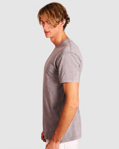 Basic Washed T-shirt Charcoal