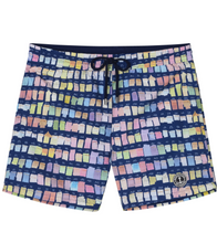 Load image into Gallery viewer, Borneo Pantone Boardshorts , Navy