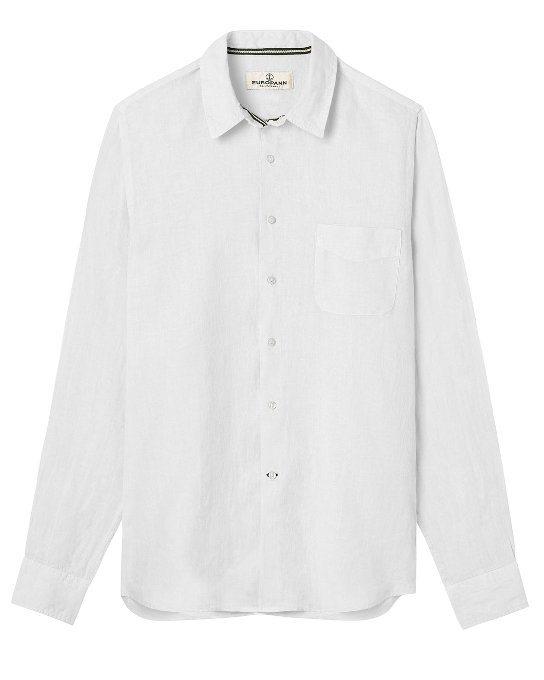 Linen Lightweight Shirt, White
