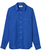 Load image into Gallery viewer, Linen Lightweight Shirt, Cobalt