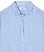 Load image into Gallery viewer, Linen Jonas Shirt, Sky Blue