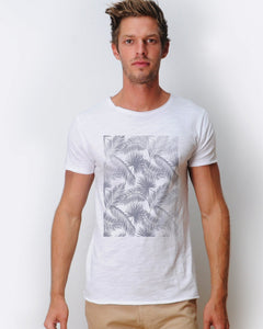 Leaves T-shirt White