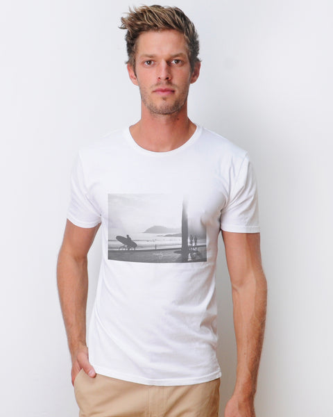 Manly White t-shirt
