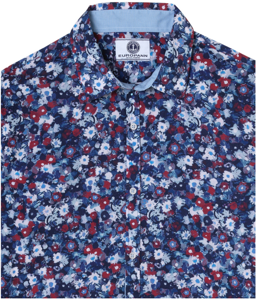 Marco Cotton Shirt Floral