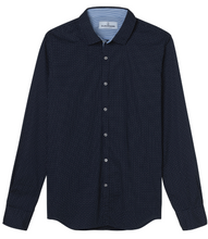 Load image into Gallery viewer, Nino Cotton Navy Shirt