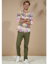 Load image into Gallery viewer, Ross - Pantone Linen Shirt Pink