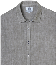Load image into Gallery viewer, Linen Shirt, Khaki Faded