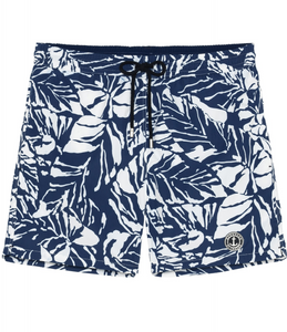 Flower Print Blue Shorts Original