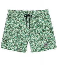 Load image into Gallery viewer, Flower Print Green Shorts