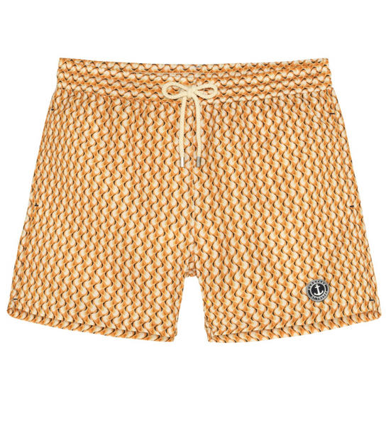 Kyoto Print Yellow Boardshort