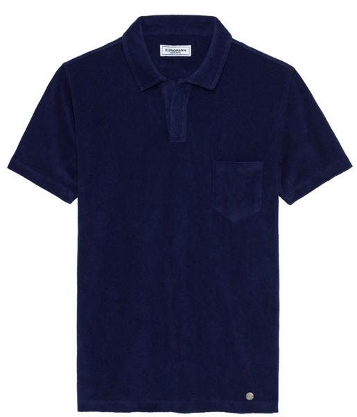Terri Towel Polo Navy