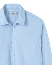 Load image into Gallery viewer, Vardy -Cotton-Voile Shirt, Sky Blue