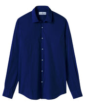 Load image into Gallery viewer, Vardy -Cotton-Voile Shirt, Ink Blue