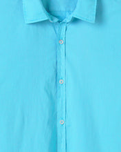 Load image into Gallery viewer, Vardy -Cotton-Voile Shirt, Turquoise
