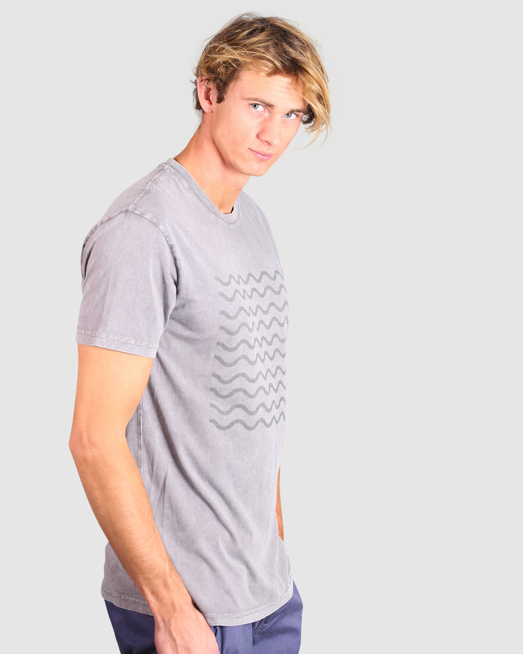 Waves Washed Tee