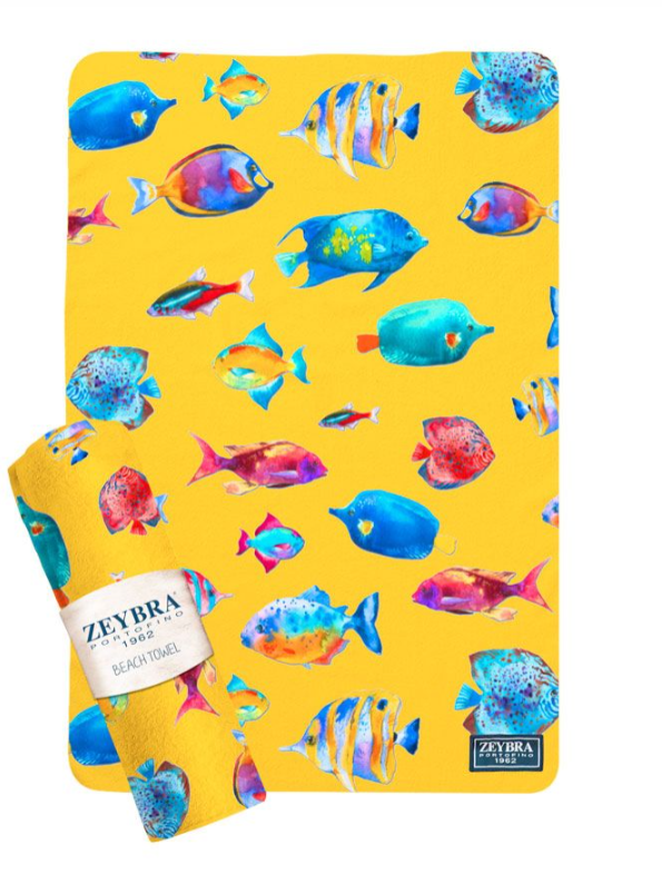 Coral Fish Towel
