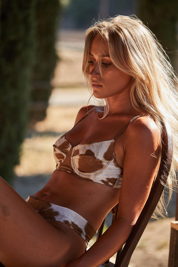 Dakota Top - Cowhide