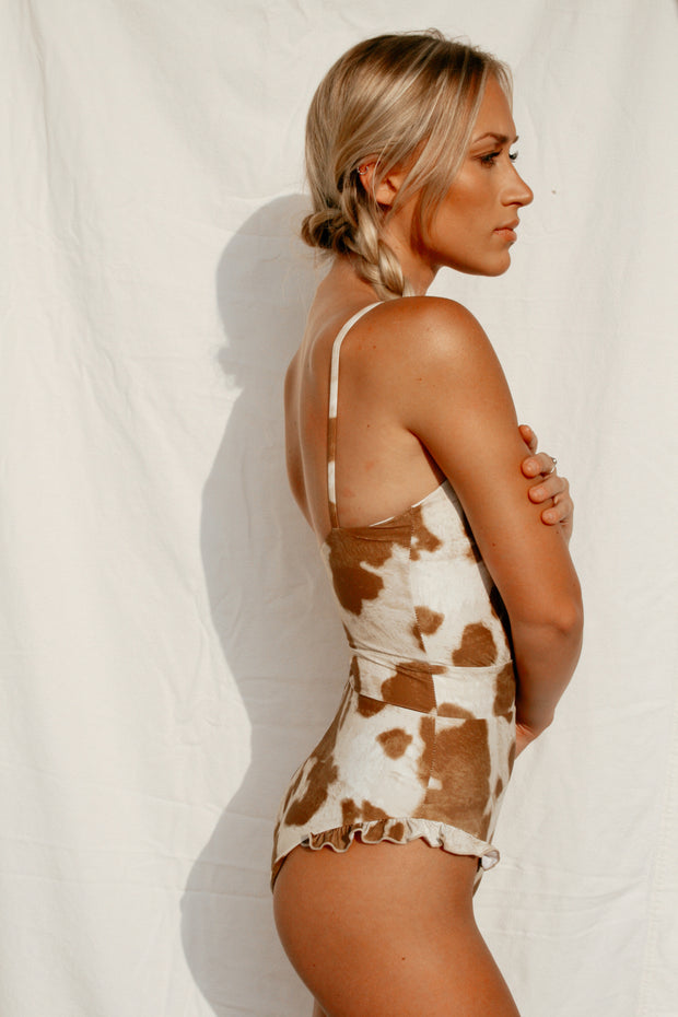 Jena One-Piece - Cowhide