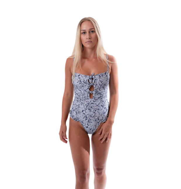 Darlin' Swimwear One Piece Jena One-Piece - Baby Blue