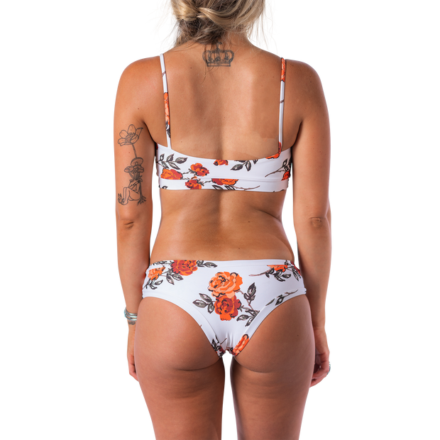 Darlin' Swimwear Top Dottie Top - Ramblin' Rose