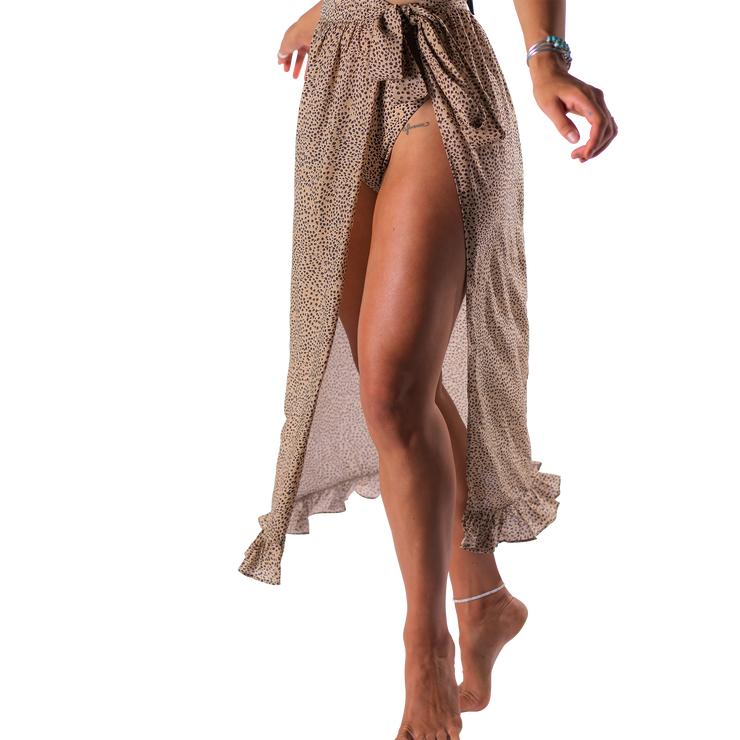 Darlin' Swimwear Wrap Skirt Marie Wrap Skirt - Alley Cat
