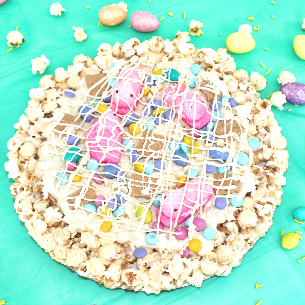 Spring Time Celebration Popcorn Pizza
