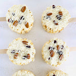 Crazy for Coconut (& Almond) Gourmet Popcorn Pops