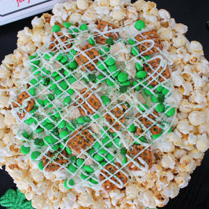 Luck of the Irish White Chocolate Pizza