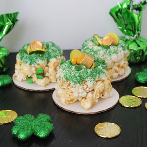 Pot of Gold Mini Popcorn Cakes