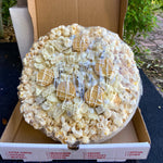 White Out Popcorn Pizza