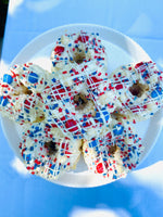 Star Spangled Mini Gourmet Popcorn Cakes