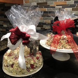 Customized Game Day Popcorn Cake for Sports Fans, Students and Alumni