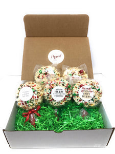 Christmas Gift Box- The Original Popcorn Pops™ (5 count)