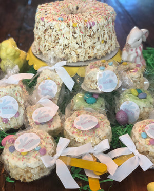 Spring Time Celebration Popcorn Bars