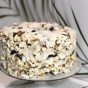 Crazy for Coconut & Almond Gourmet Popcorn Cake™