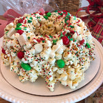 Christmas Red and Green Gourmet Popcorn Cake™