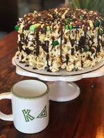Sorority Greek Themed Gourmet Popcorn Cake™