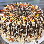 Thanksgiving Harvest Popcorn Cake