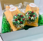 Christmas Wreath Mini Gourmet Popcorn Cake™ Gift Box