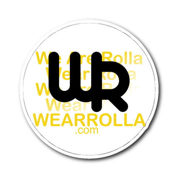 Wear Rolla Sticker