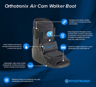 The Orthotronix Short Air Cam Walker Boot (Foot & Ankle)