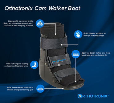 The Orthotronix Short Cam Walker Boot