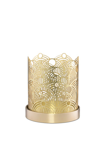 Skultuna Extra Small Lunar Candle Holder in Brass